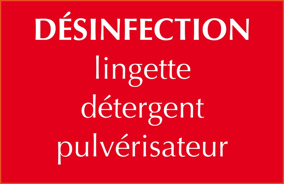 Boudon Vitrolles désinfection