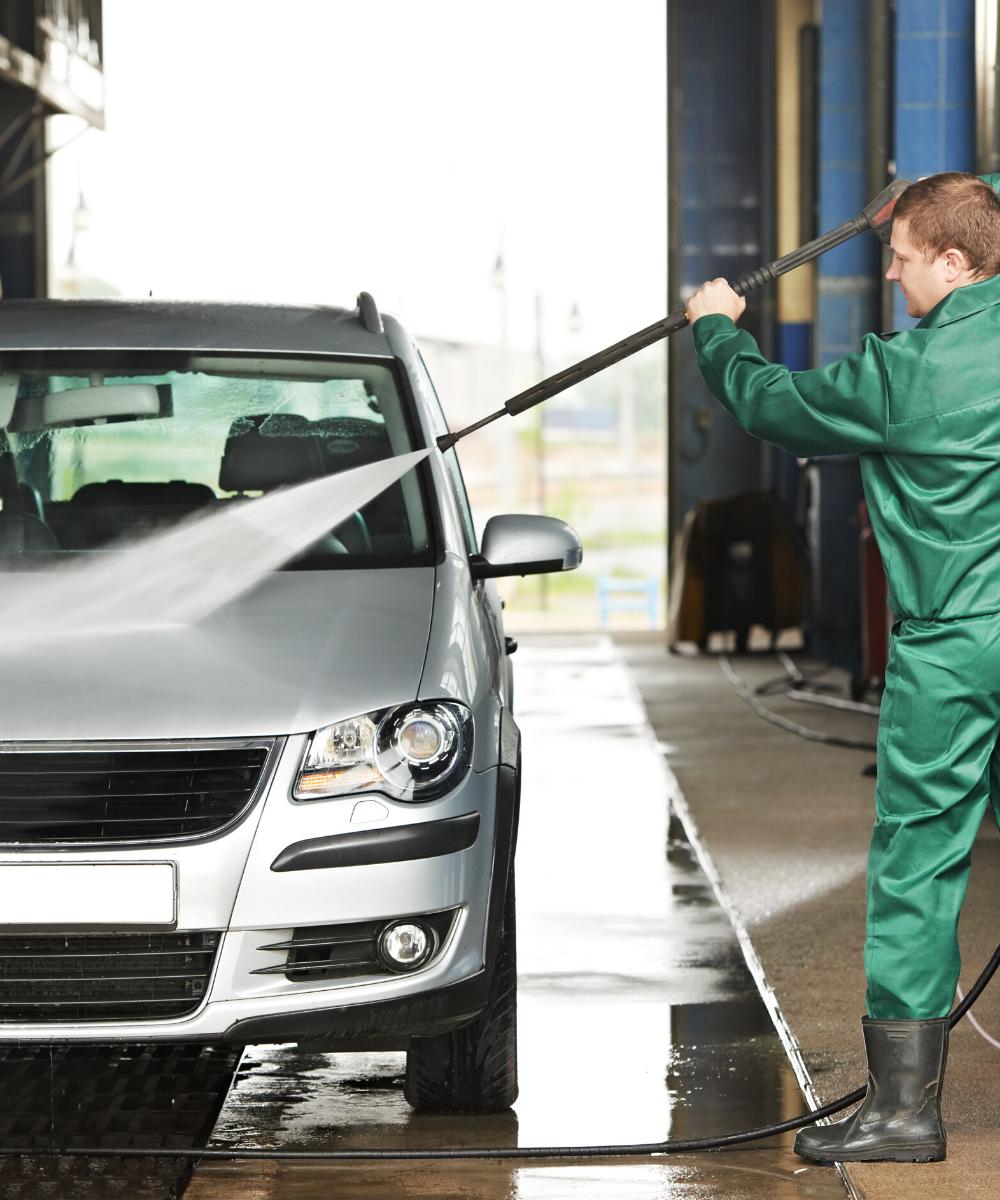 Boudon Vitrolles, nettoyage voiture