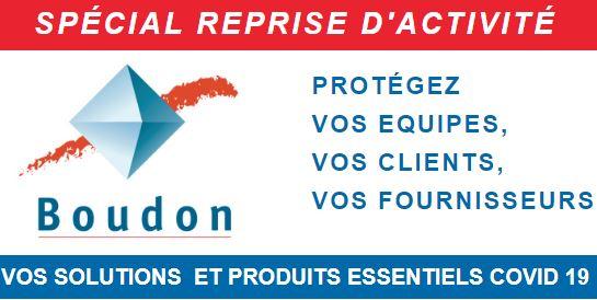 Boudon Vitrolles, produits covid-19, protection, masques