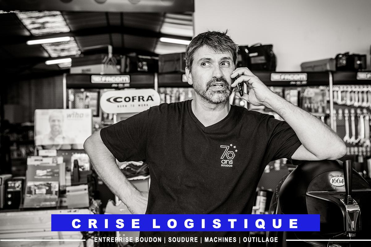 crise logistique Boudon Vitrolles